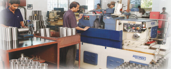 Grinding (Stage Inspection) Quality Assurance Anand Liners