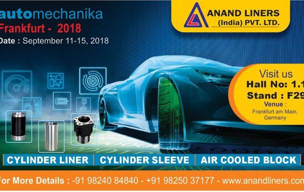 7 Automechanika Germany 2018 - Anand Liners