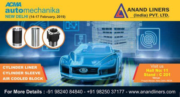 8 Automechanika Delhi 2019 - Anand Liners